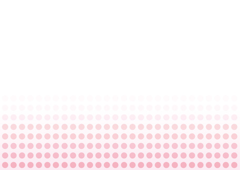 Pale pink polka dot background material