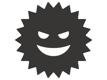 Pollen · virus icon