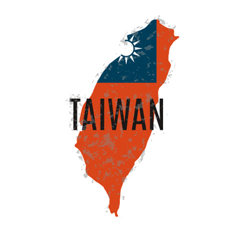 Taiwan travel labels