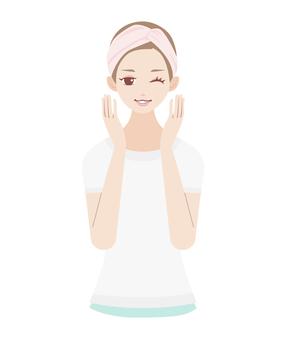Skin Care Beauty Female