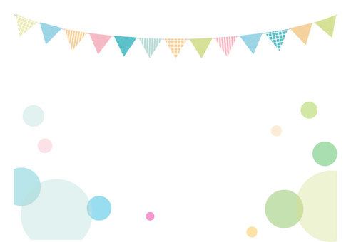 Polka dot pastel card