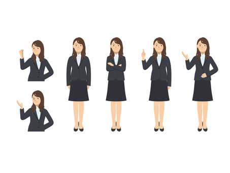 Business woman - set 4