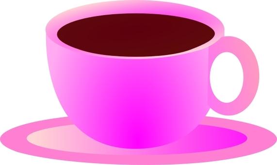 Coffee purple cup