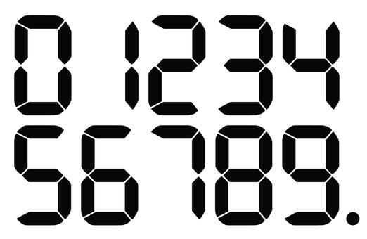 디지털 숫자 2