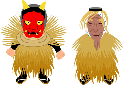 Yusa's Shogatsu new year event Amahage