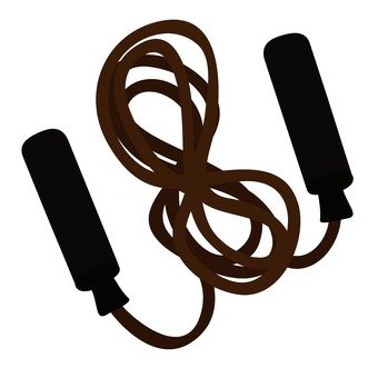 A jumping rope