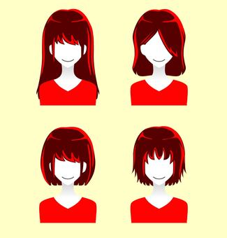 People silhouette icon · female