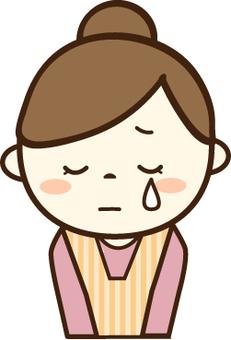 Housewife (sad face 4)