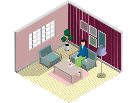 Simple interior -2