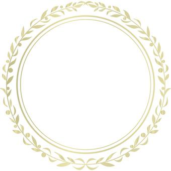 Wreath ring: frame