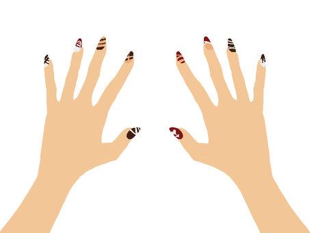Hand nail 6