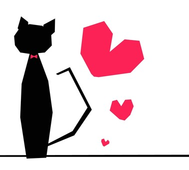 고양이와 하트