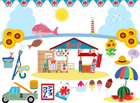 Summer Vacation Set ~ Okinomiya Hen ~