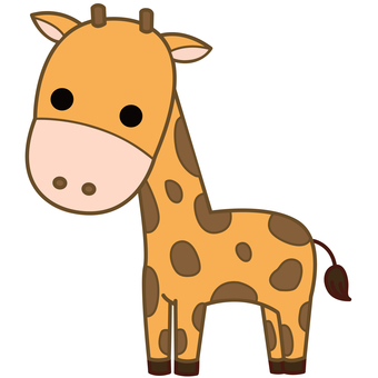 Animal Illustrations-Giraffe