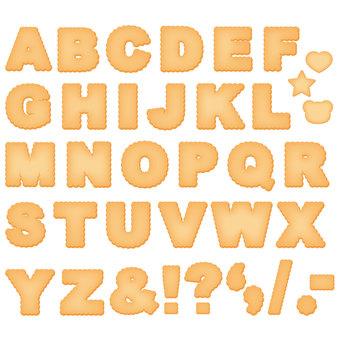 Fluffy cookie _ alphabet set