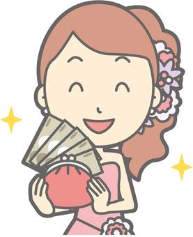 Bridegroom pink - rich - bust