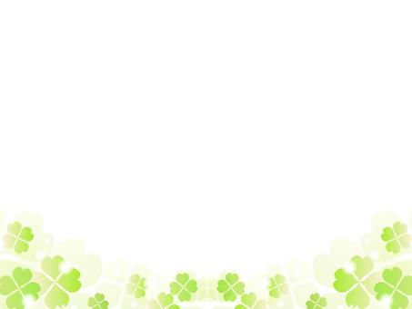 三葉草的裝飾框架5