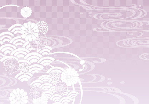 Background (Japanese Pattern 1 · Pink)
