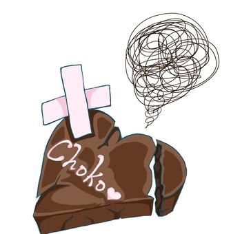 無法製作巧克力