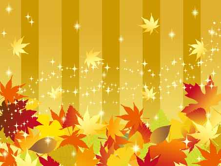 Japanese style material Autumn Background Autumn leaves