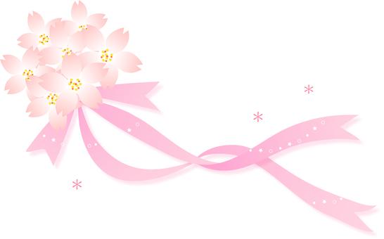 벚꽃의 일러스트