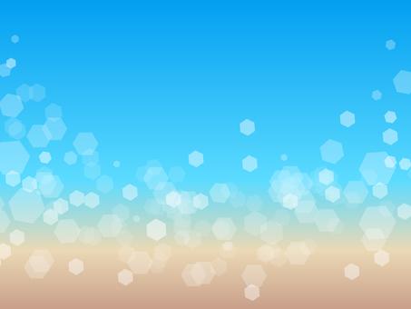 Summer sea glitter