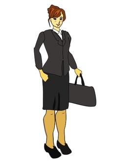 Job hunting New employee women
