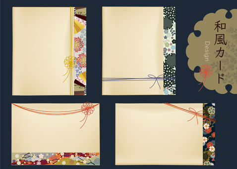 Japanese Pattern Card 2