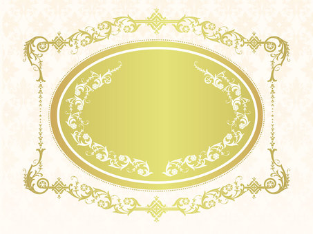 Antique Western-style Frame 02