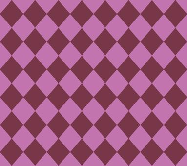 Diamond pattern (pink)