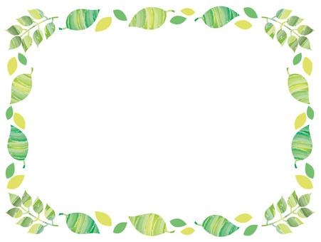 Leaf frame material