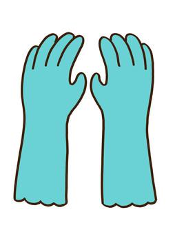 ゴム手袋 2