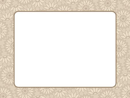 植物圖案框架19