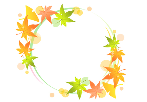 Autumn Maple Frame