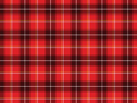 Red tartan check A 01