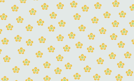 A background calling for happiness and a small floral background