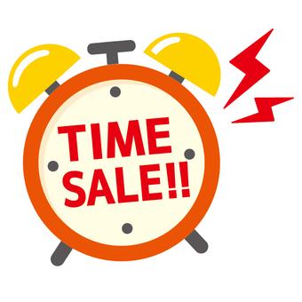 Time Sale Alarm Clock