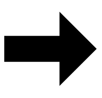 矢印 右向き