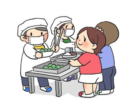 School lunch and children