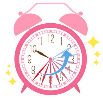 目覚まし時計_時短
