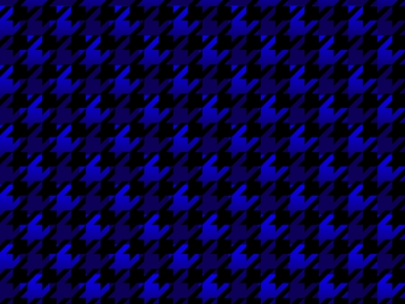 Blue and black houndstooth