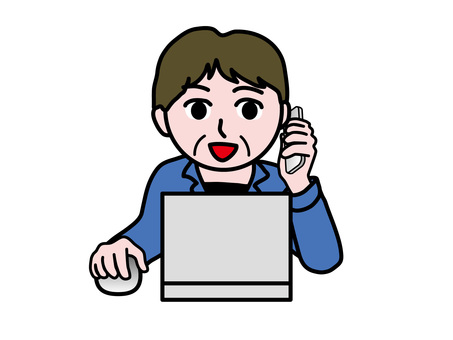 PC operation (468) Smartphone front clerk