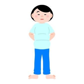 Chubby female 2