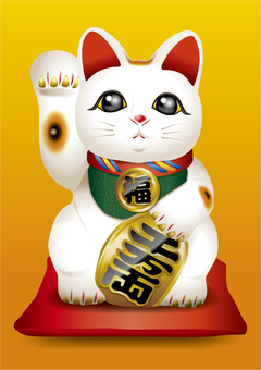 Lucky cat (right hand) 1