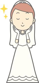 Bride dress - skin care - whole body