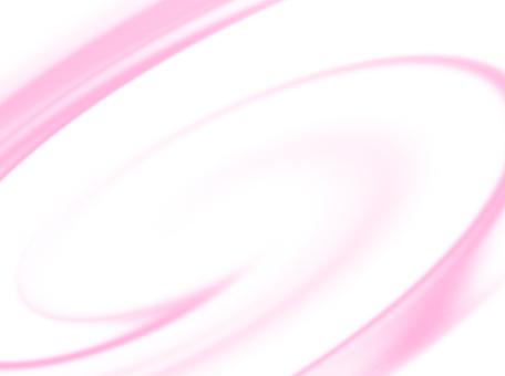 Pink curve wave