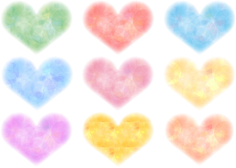 Heart _ watercolor _ various