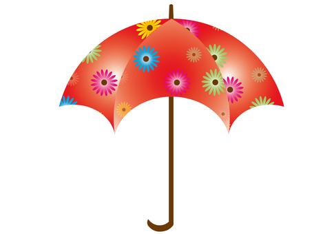Floral umbrella 8