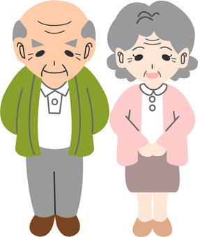 【People】 Grandpa Grandma