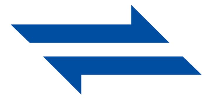 Sharp arrow _ Blue